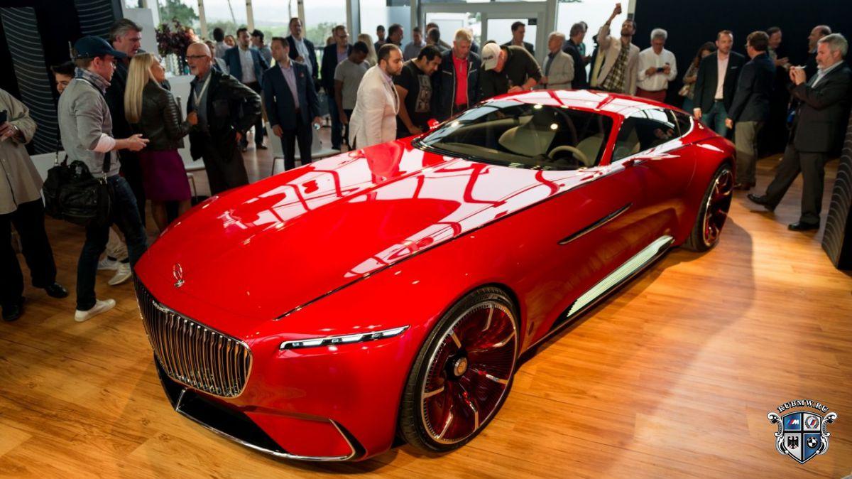 Вглобальной сети раскрыли шестиметровое купе Mercedes-Maybach