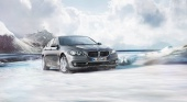 BMW xDrive vs Audi Quattro vs Mercedes 4matic: тест на заснеженном покрытии BMW 5 серия F10-F11