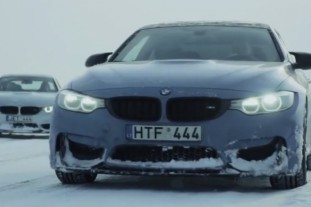 BMW M4 Moto Ice Drifting :: BMW M серия Все BMW M