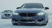 BMW M4 Moto Ice Drifting BMW 4 серия F82-F83