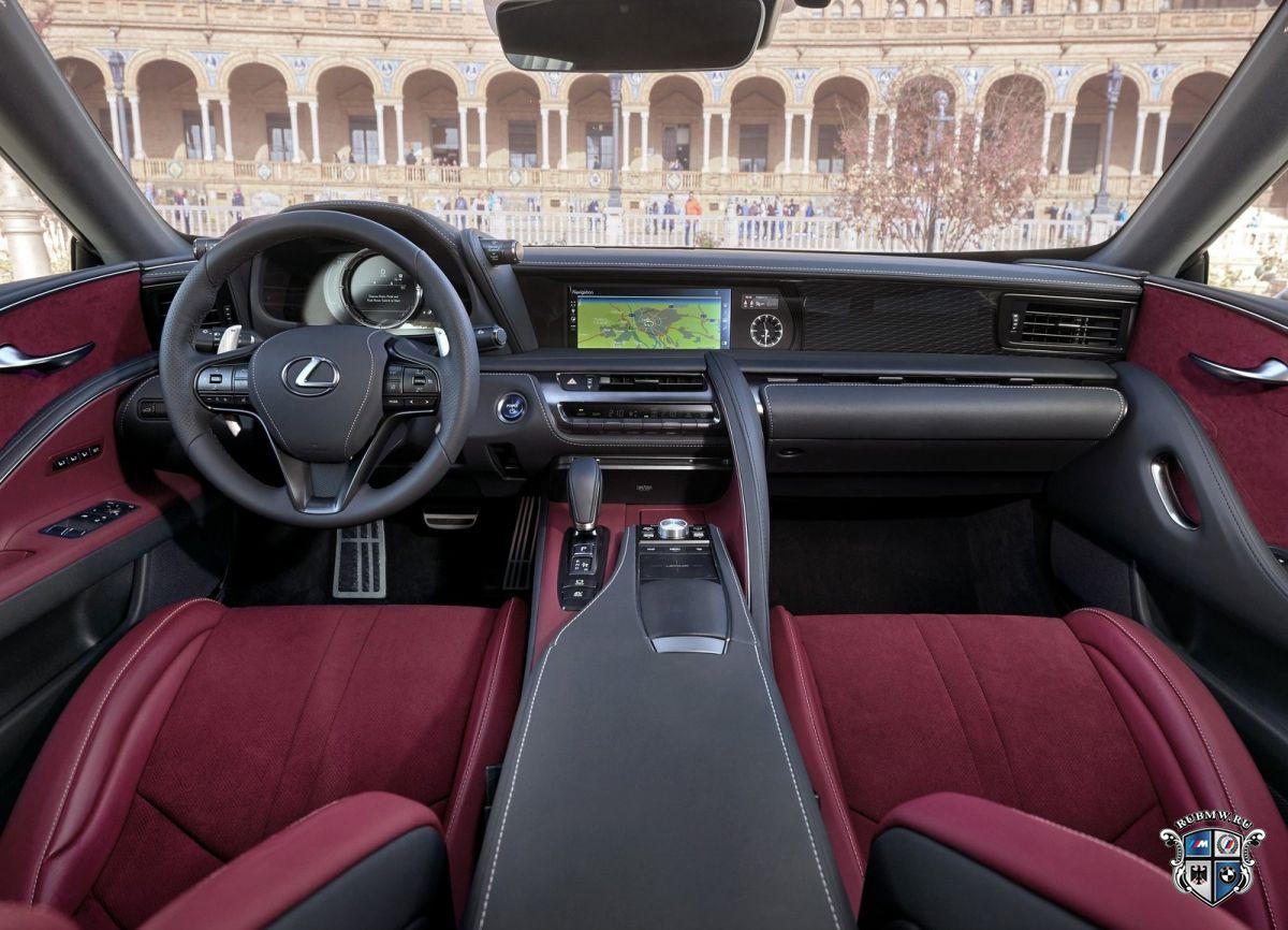 Возникла информация огибридном автомобиле Лексус LS500h