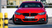 BMW 4 Series Gran Coupe с M Performance Parts BMW 4 серия Gran Coupe