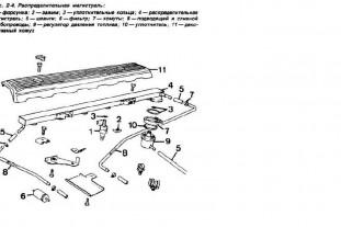 Система питания бензинового двигателя BMW : Документация : BMW 8