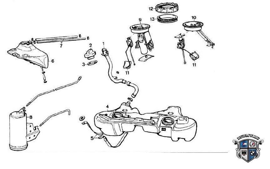бензинового двигателя BMW